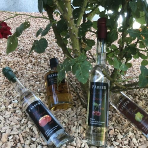 flaschen mit rosen